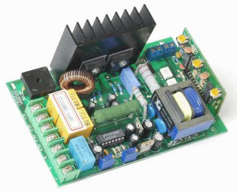 be extremely careful connecting any line supplied test equipment to the  controller  the controller is not isolated from the line and much of the  circuit is